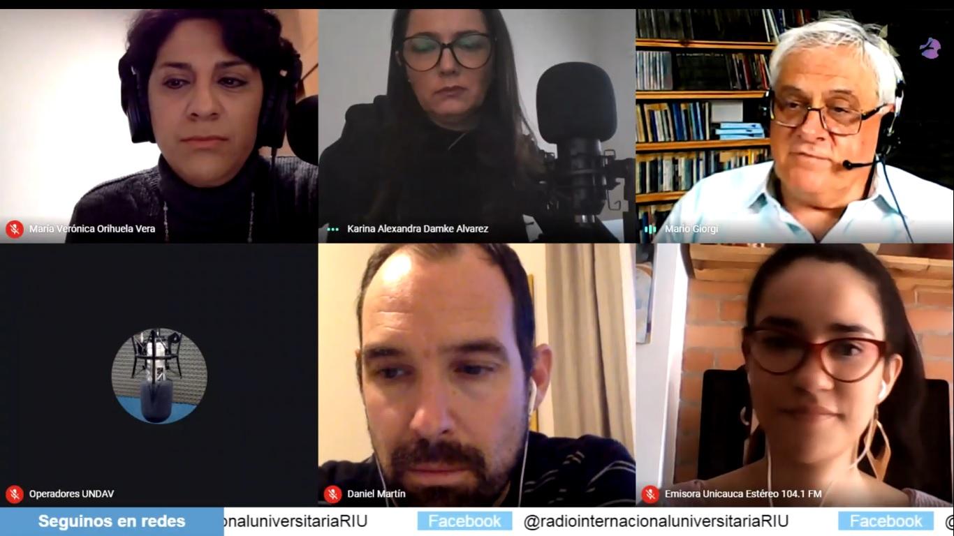 """Comienza el programa """"Mundo RIU"""" de la Radio Internacional Universitaria"""